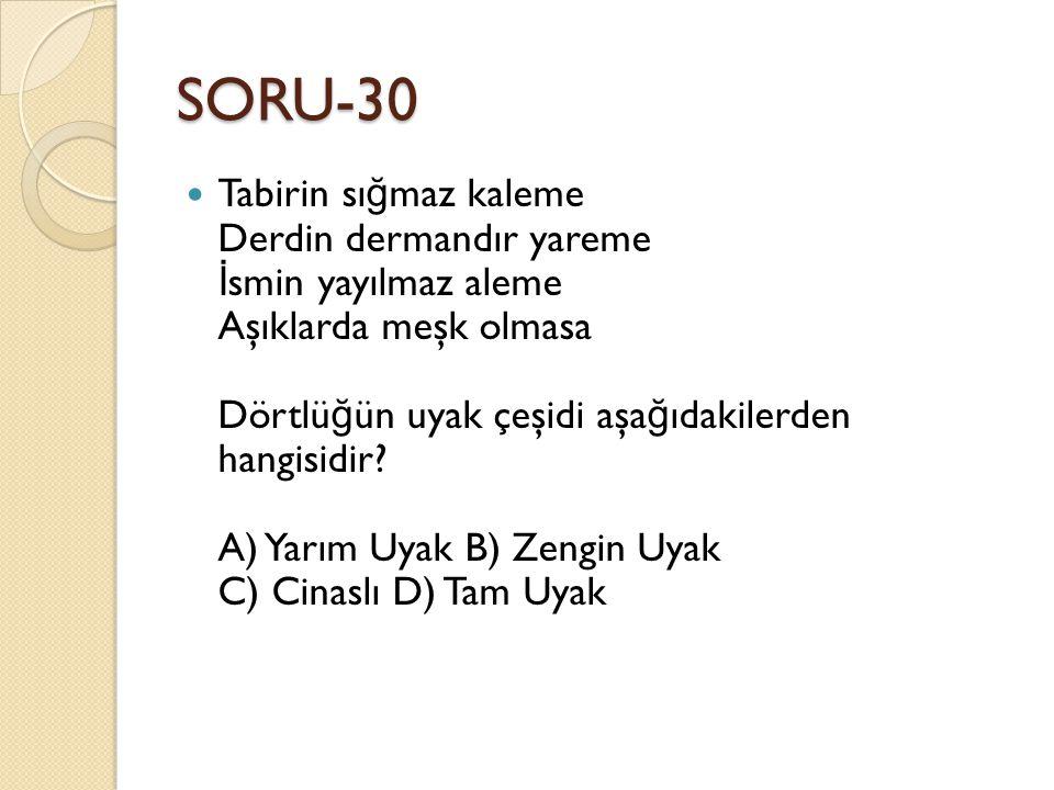 SORU-30