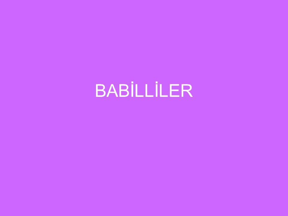 BABİLLİLER