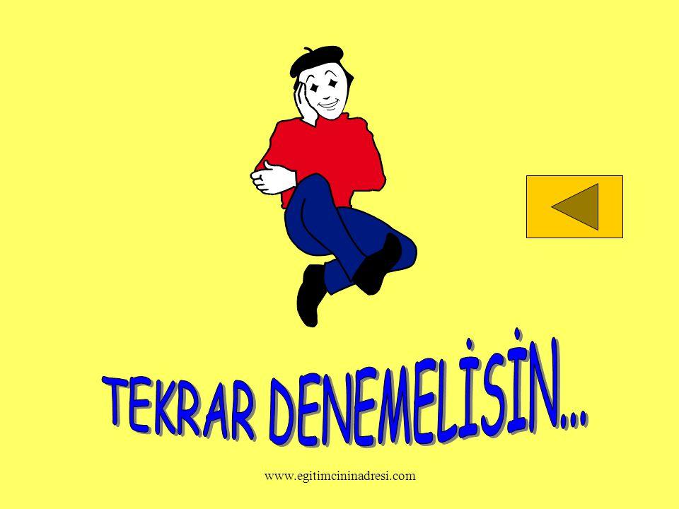 TEKRAR DENEMELİSİN... www.egitimcininadresi.com