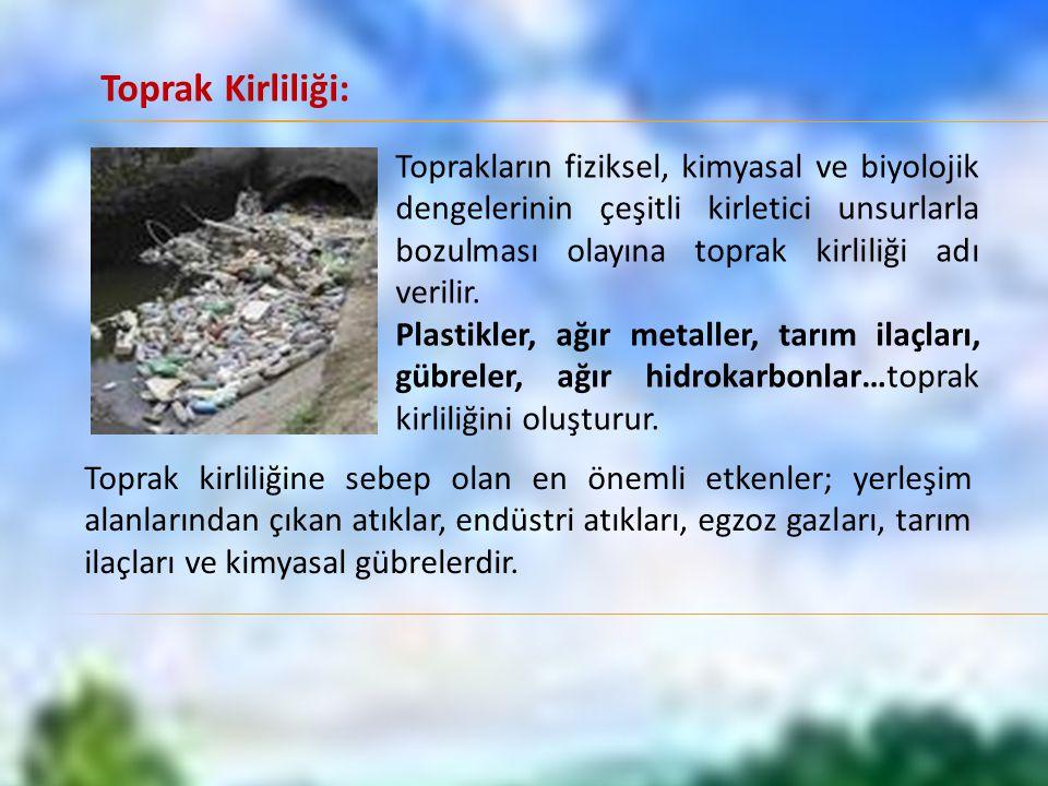 Toprak Kirliliği: