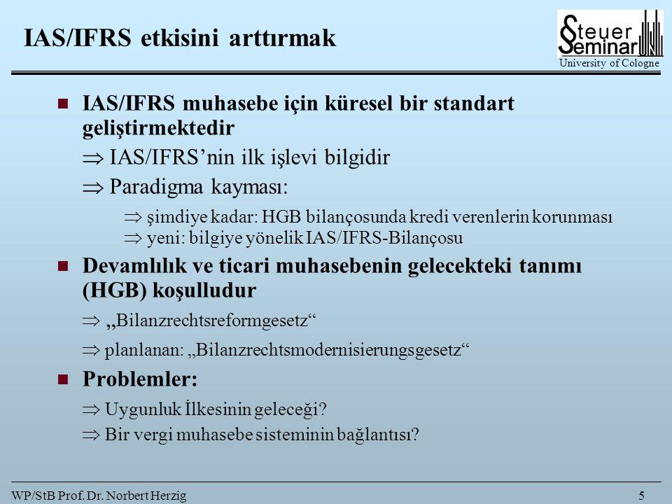 IAS/IFRS etkisini arttırmak