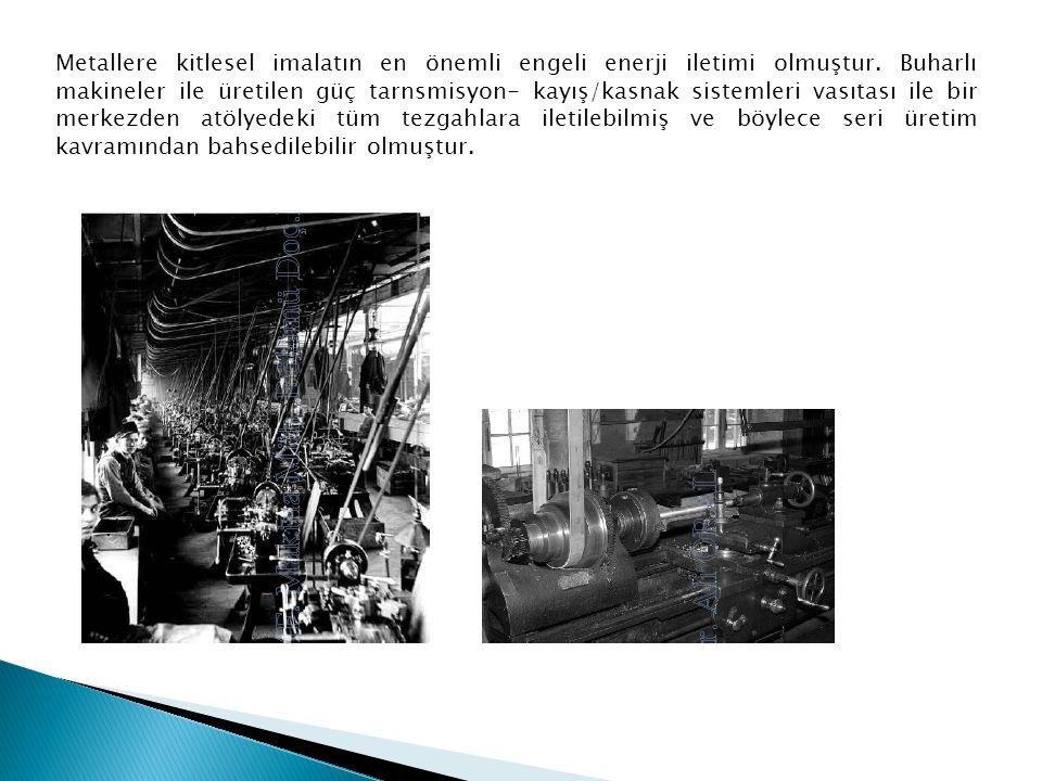Metallere kitlesel imalatın en önemli engeli enerji iletimi olmuştur