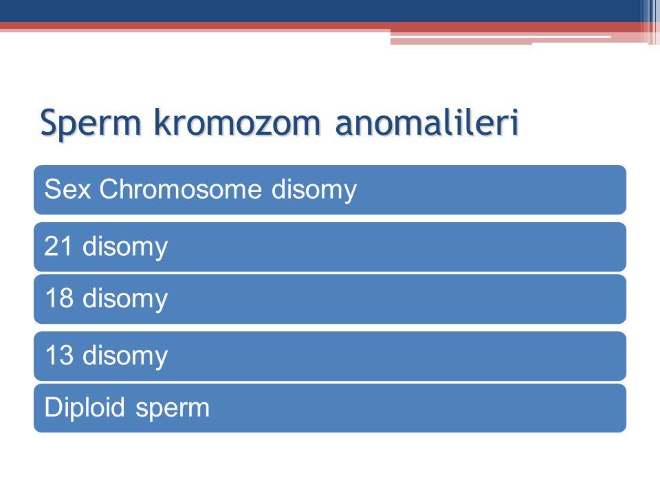 Sperm kromozom anomalileri