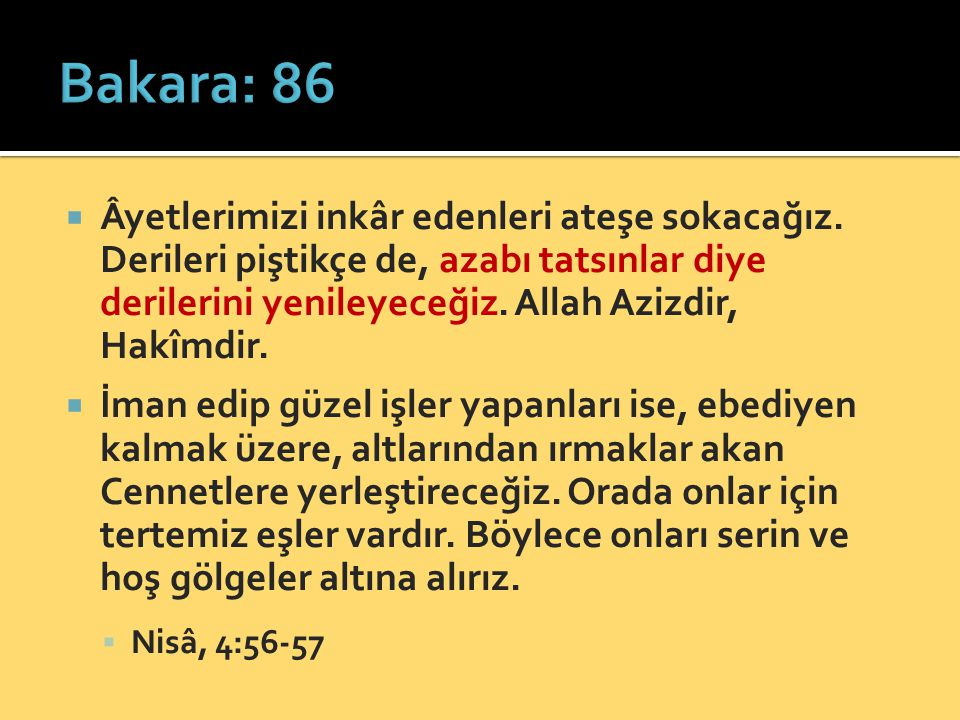 Bakara: 86
