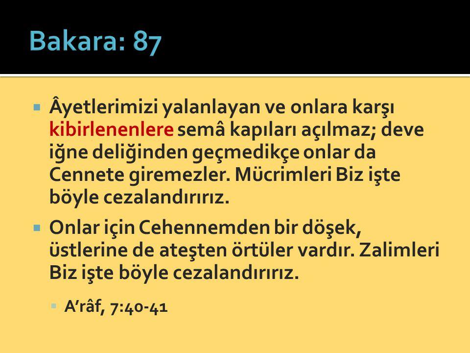 Bakara: 87