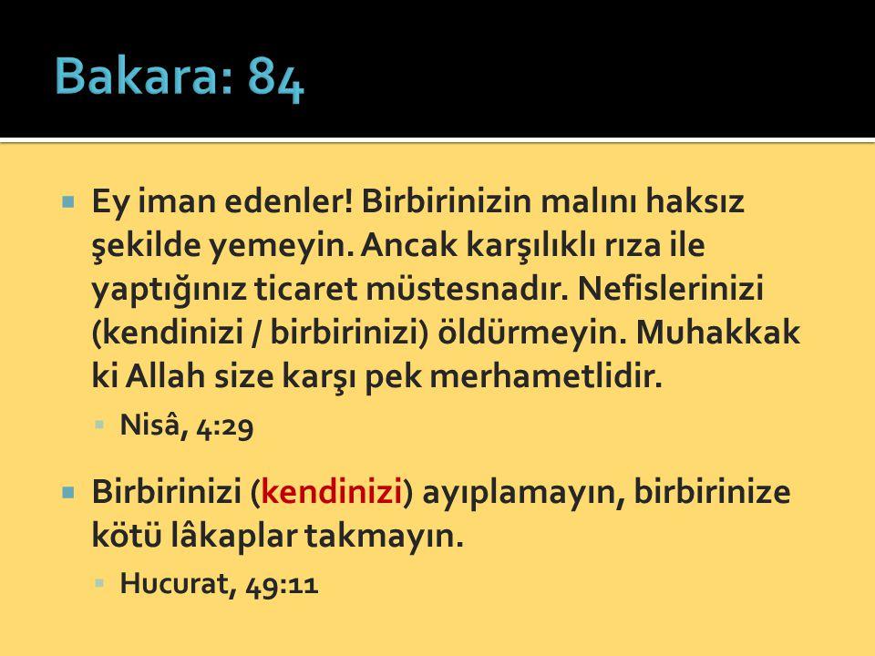 Bakara: 84