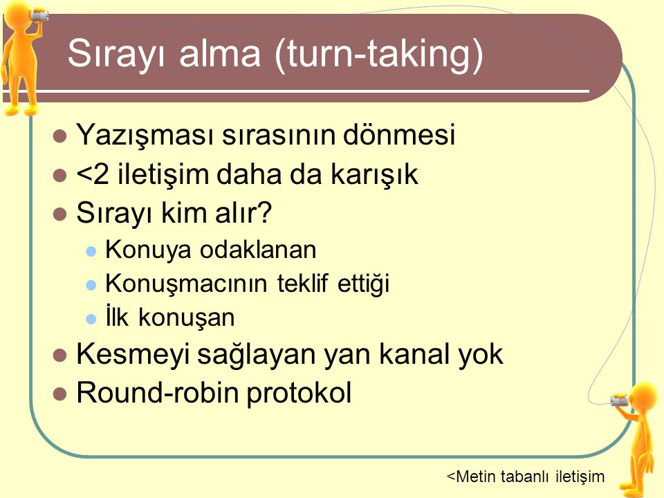 Sırayı alma (turn-taking)