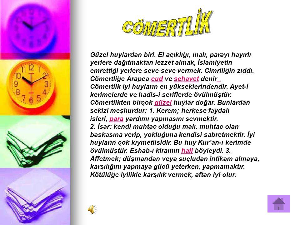 CÖMERTLİK