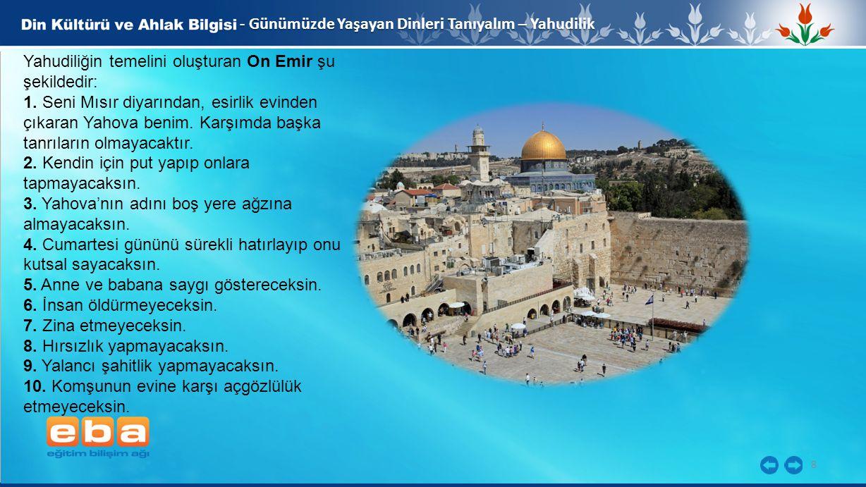 - Günümüzde Yaşayan Dinleri Tanıyalım – Yahudilik