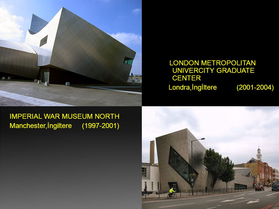 IMPERIAL WAR MUSEUM NORTH Manchester,İngiltere (1997-2001)