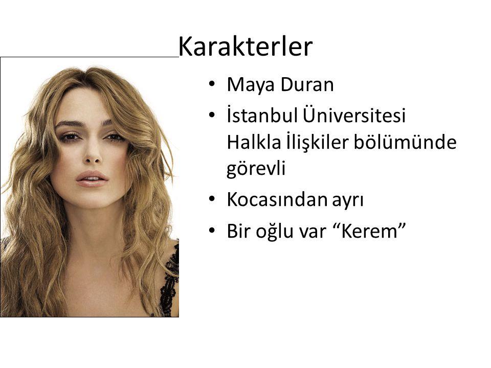 Karakterler Maya Duran