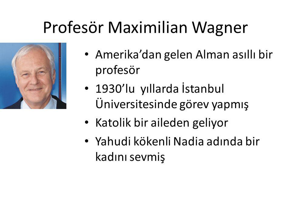 Profesör Maximilian Wagner