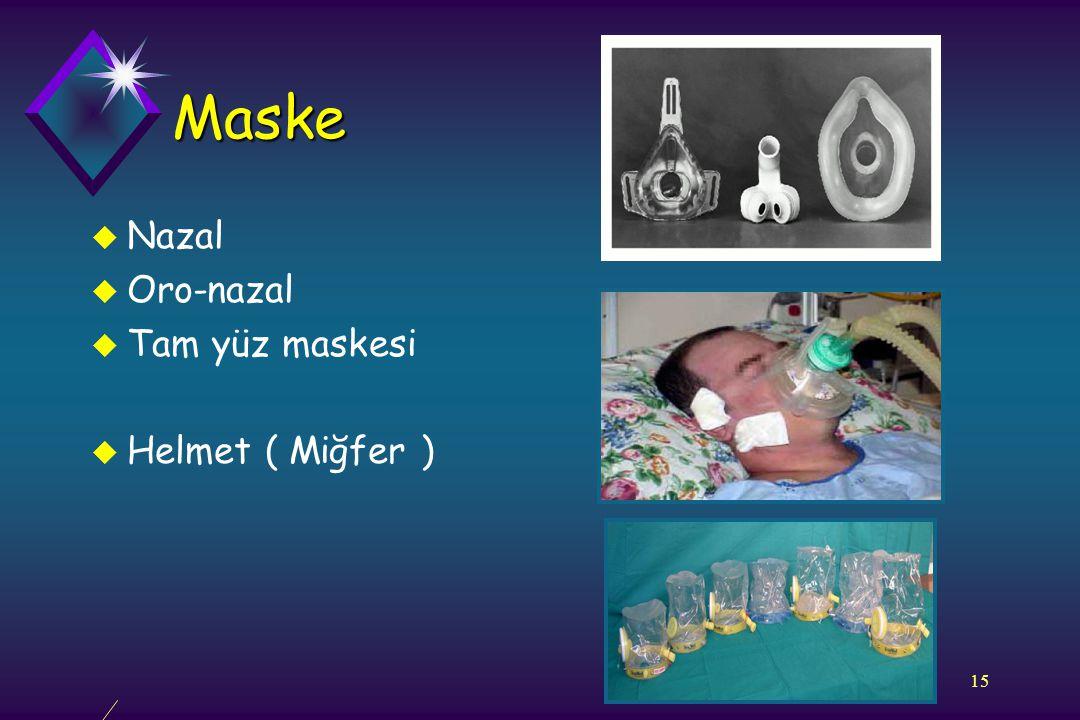 Maske Nazal Oro-nazal Tam yüz maskesi Helmet ( Miğfer )