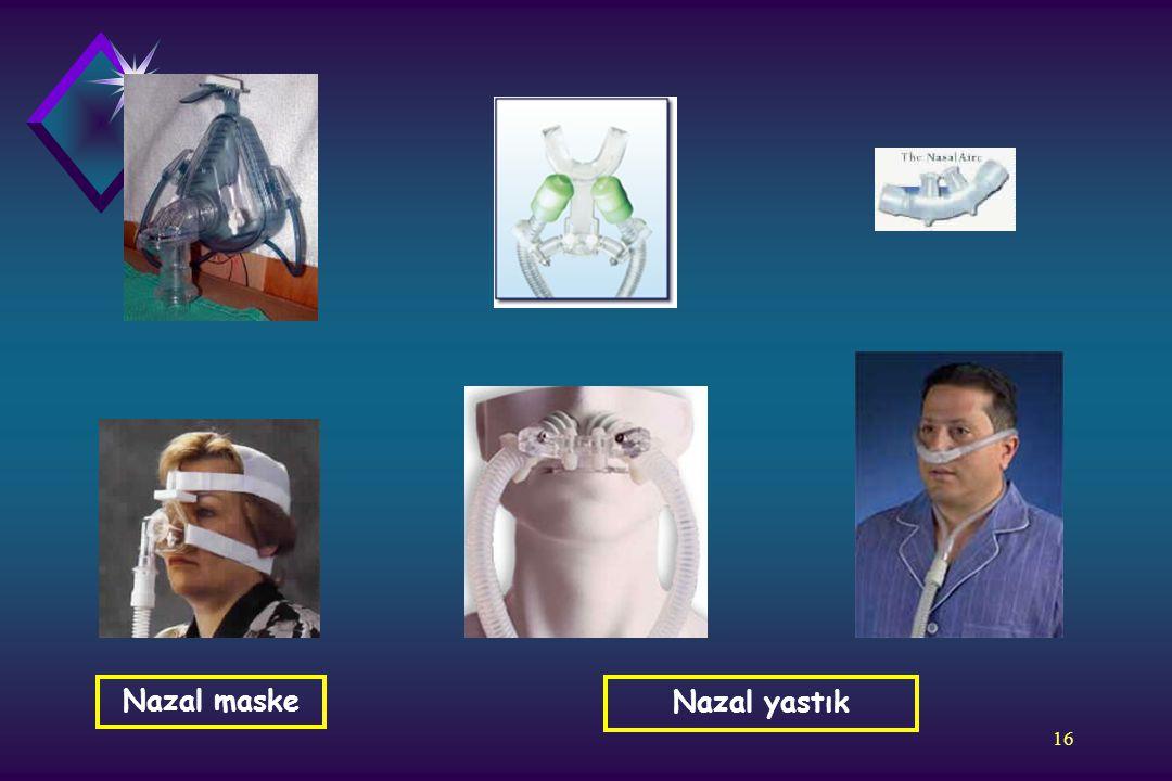 Nazal maske Nazal yastık