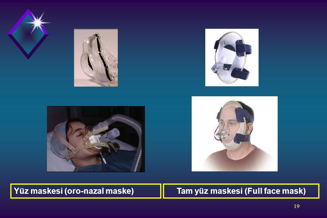 Tam yüz maskesi (Full face mask)
