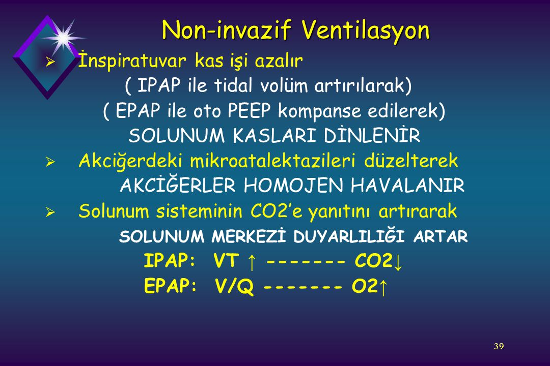 Non-invazif Ventilasyon