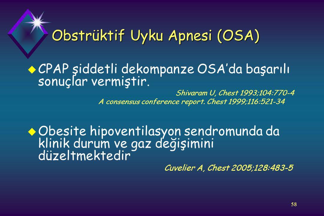 Obstrüktif Uyku Apnesi (OSA)