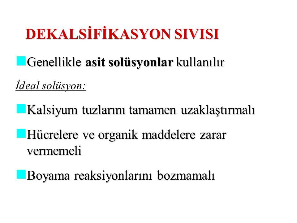 DEKALSİFİKASYON SIVISI