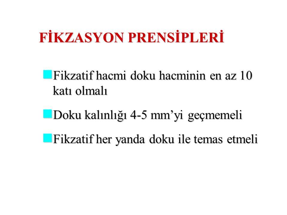 FİKZASYON PRENSİPLERİ