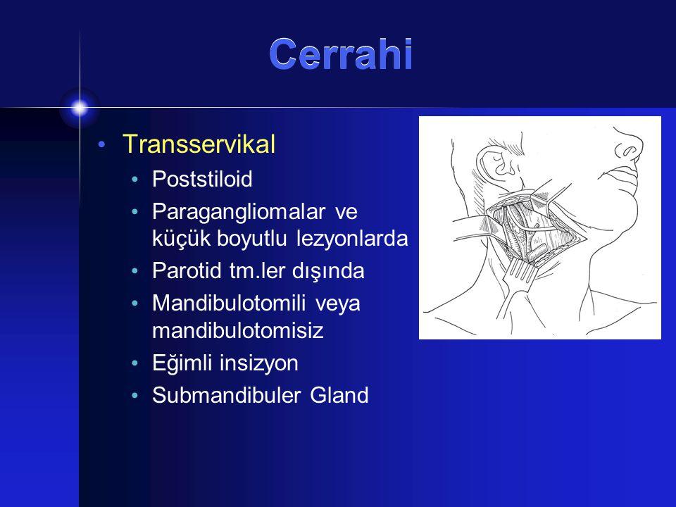 Cerrahi Transservikal Poststiloid