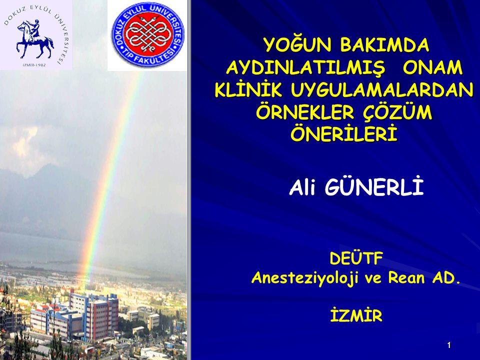 Anesteziyoloji ve Rean AD.