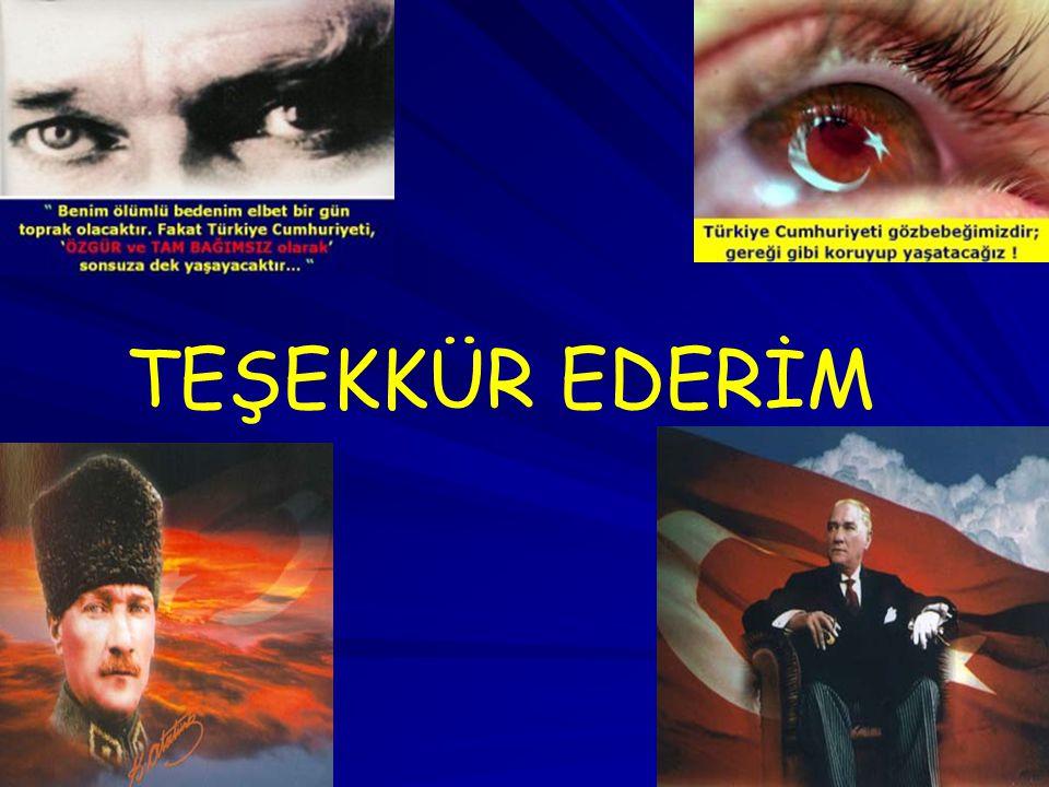 TEŞEKKÜR EDERİM 25