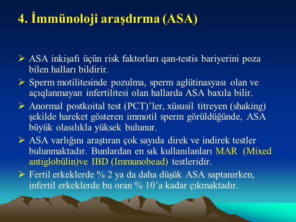 4. İmmünoloji araşdırma (ASA)