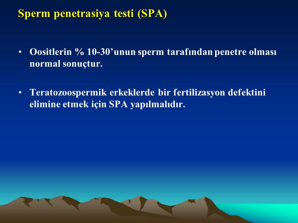 Sperm penetrasiya testi (SPA)