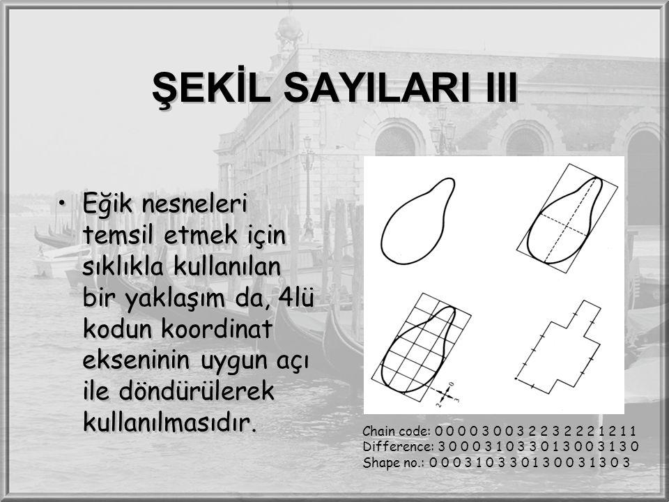 ŞEKİL SAYILARI III