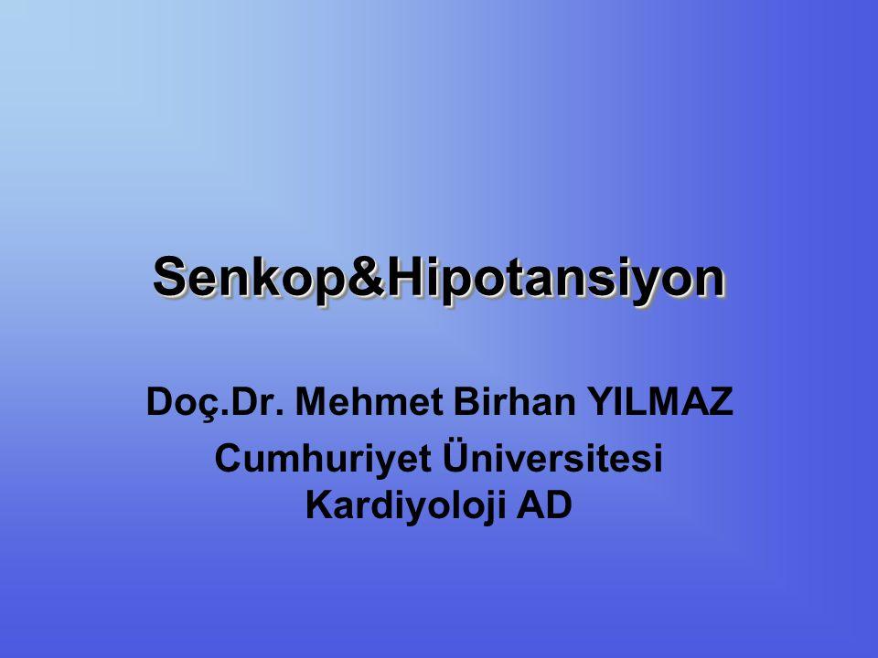 Doç.Dr. Mehmet Birhan YILMAZ Cumhuriyet Üniversitesi Kardiyoloji AD