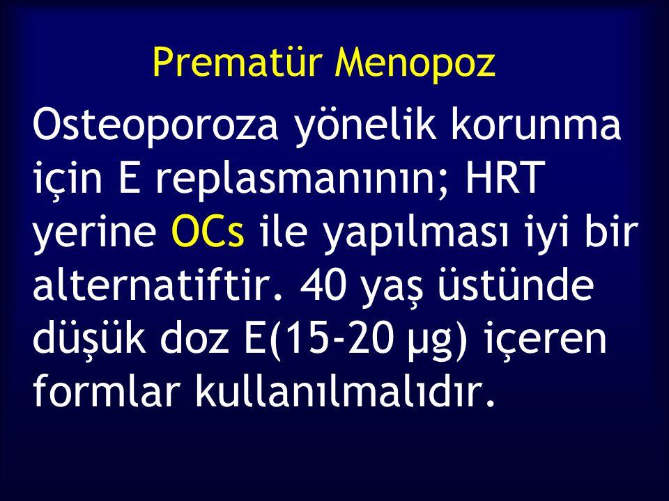 Prematür Menopoz
