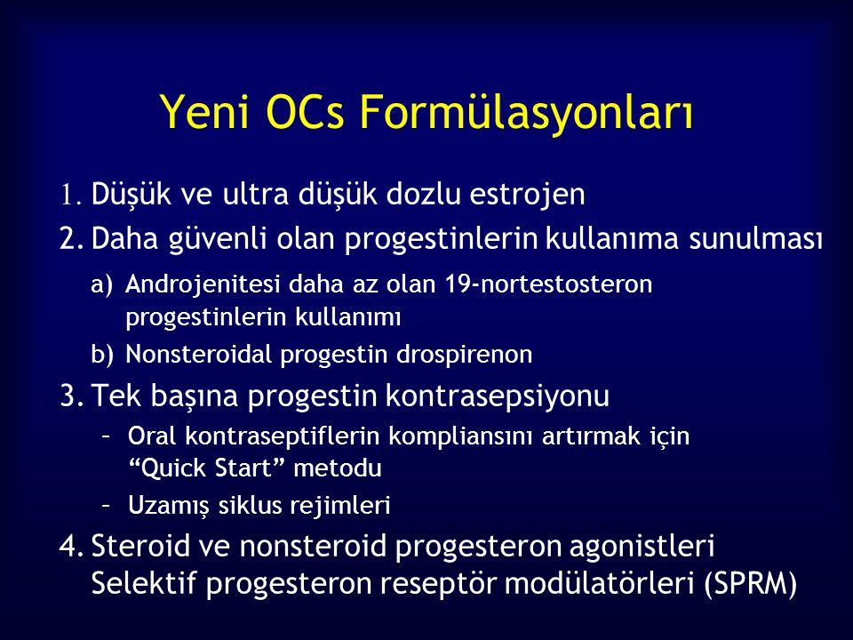 Yeni OCs Formülasyonları
