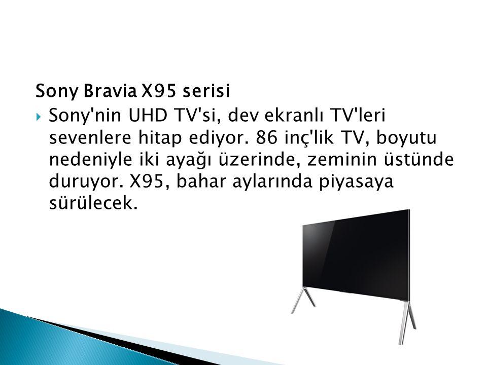 Sony Bravia X95 serisi