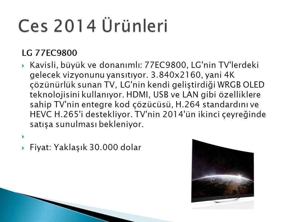 Ces 2014 Ürünleri LG 77EC9800.