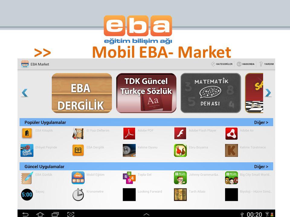 >> Mobil EBA- Market