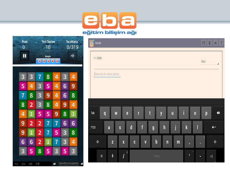 Yeni Uygulamalarımız Eba Dosya – Flash Card – Eba Market -Satranç