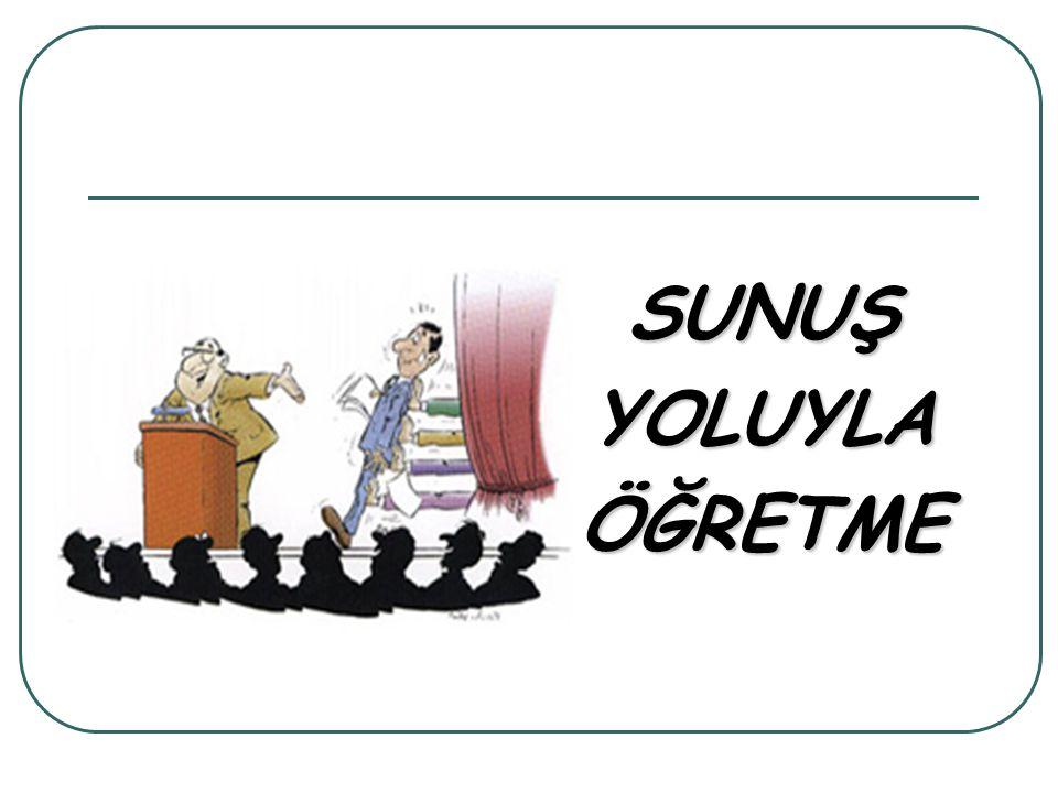 SUNUŞ YOLUYLA ÖĞRETME