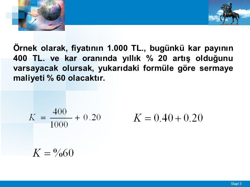 Örneğin: 1.000 TL.