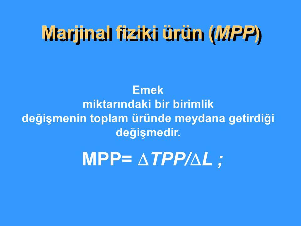 Marjinal fiziki ürün (MPP)