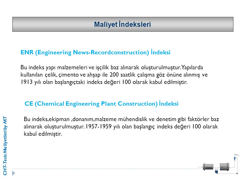 Maliyet İndeksleri ENR (Engineering News-Recordconstruction) İndeksi