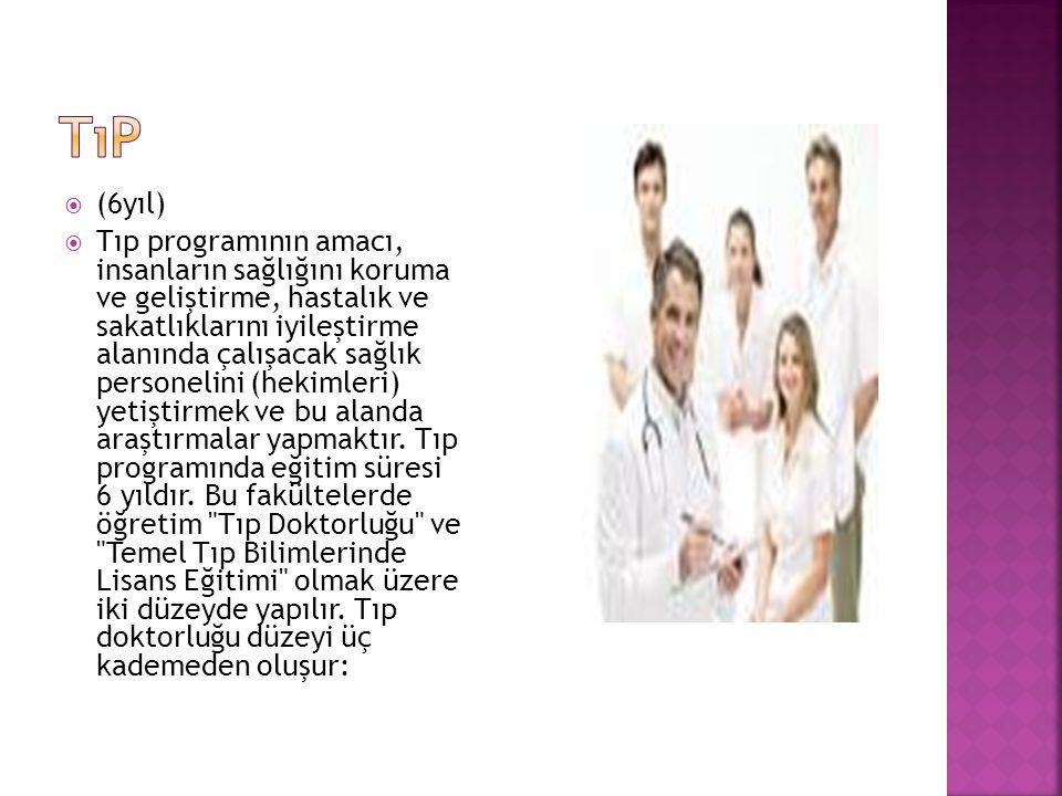tıp (6yıl)