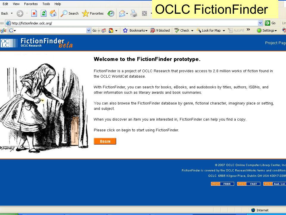 OCLC FictionFinder