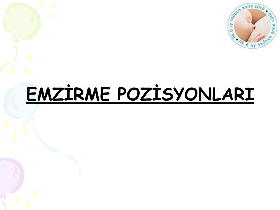EMZİRME POZİSYONLARI