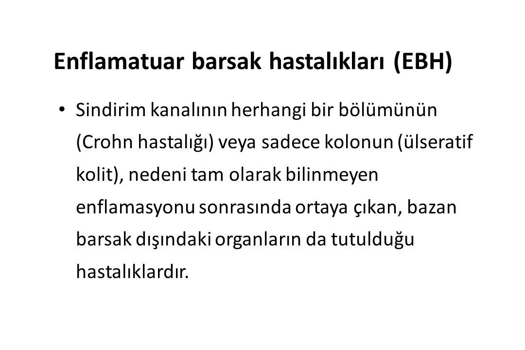 Enflamatuar barsak hastalıkları (EBH)
