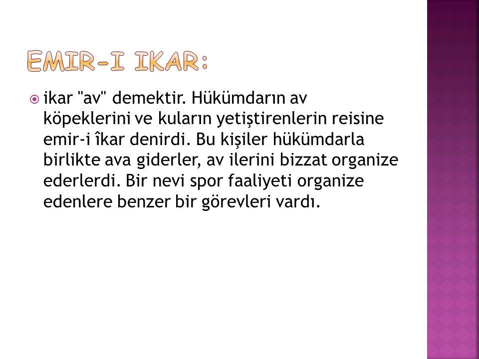 Emir-i ikar: