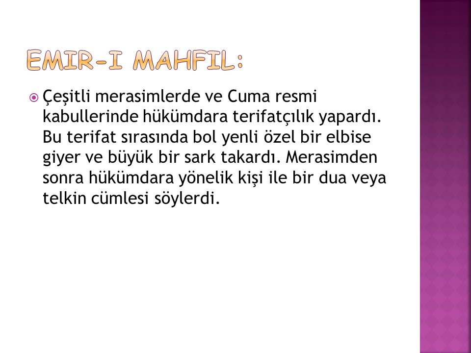 Emir-i Mahfil: