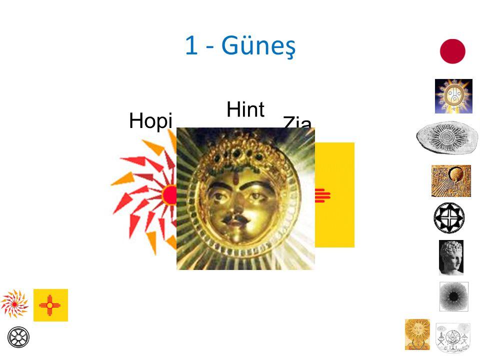 1 - Güneş Hint Hopi Zia
