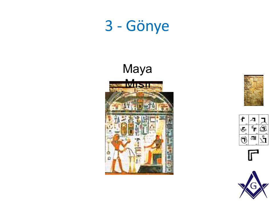 3 - Gönye Maya Mısır