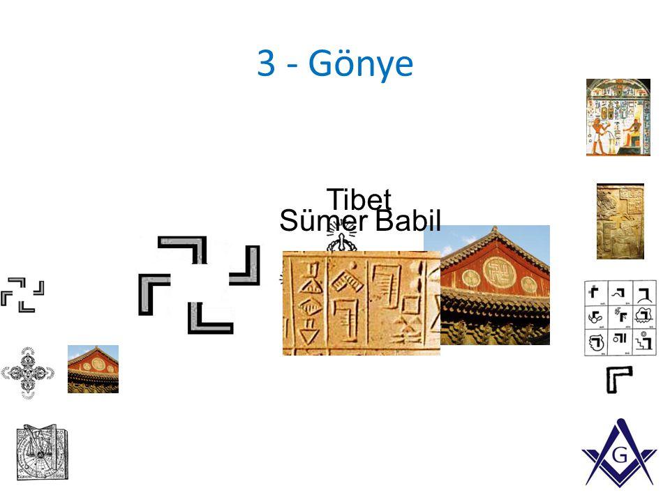 3 - Gönye Tibet Sümer Babil