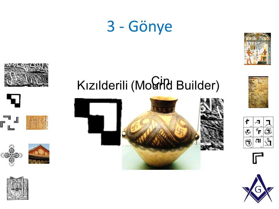 3 - Gönye Çin Kızılderili (Mound Builder)